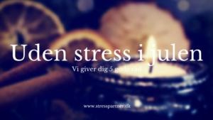 uden stress i julen