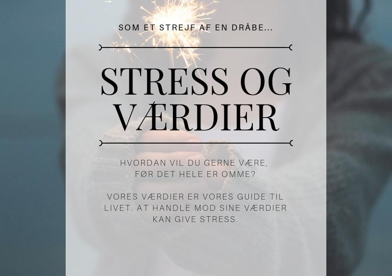 Stress og værdier